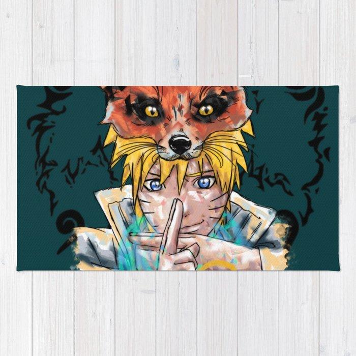Naruto Abstract Rug