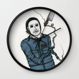 Michael Meyers Wall Clock