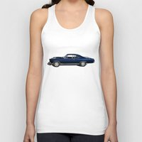 muscle Tank Tops featuring Muscle Car by drQuill