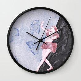 Butterfly Dancer Wall Clock
