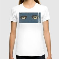 gatsby T-shirts featuring Gatsby Stare  by Julia Lopez