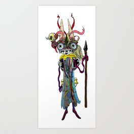 The Secret Deity Art Print