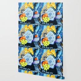 Rhapsody in Blue Wallpaper