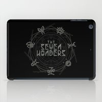 coven iPad Cases featuring The Seven Wonders by Barn Bocock