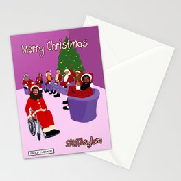 SANTAsylum - Group Therapy Stationery Cards