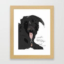 OPD Khloe Framed Art Print