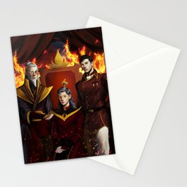Fire Lords Stationery Cards