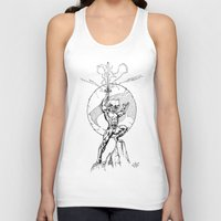 thundercats Tank Tops featuring Lion-O Thundercats by GPap
