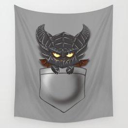 Dragon Pocket Tee Wall Tapestry