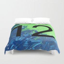 Blue & Green, 12, No. 2 Duvet Cover