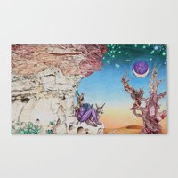 nausicaa Canvas Prints featuring Nausicaa Before the Portal to Erebus  by Derek Sproule