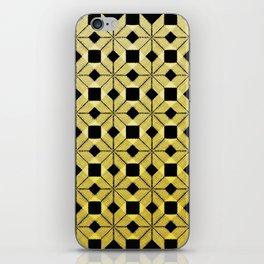 Golden Snow iPhone Skin