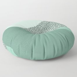 Mint Slice: Cookie Crew Floor Pillow