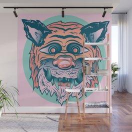 Trippy Tiger Wall Mural