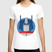 optimus prime T-shirts featuring Optimus Prime Dots.  by Federico Giuliani
