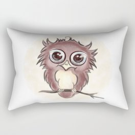 Big-eyed Rectangular Pillow