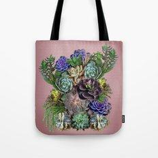 Succulent gardens Tote Bag