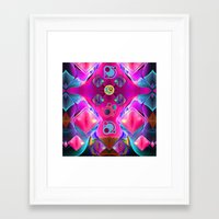 diamonds Framed Art Prints featuring Diamonds by thea walstra
