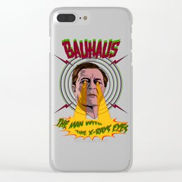 Bauhaus. X-Rays eyes. Clear iPhone Case