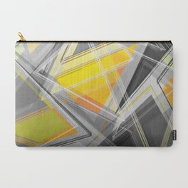 ∆Yellow Carry-All Pouch