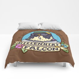 Millennial Falcon Comforters