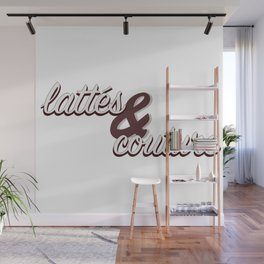 Lattes & Couture Wall Mural