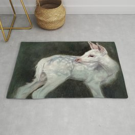 A Forest Ghost Rug