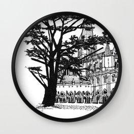 cloister shadow Wall Clock
