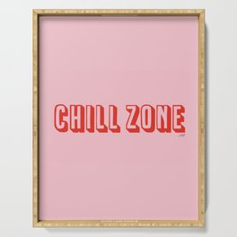 Chill Zone Serving Tray