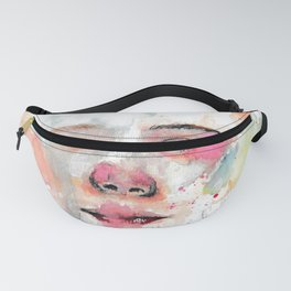 Pastel watercolor - a new start Fanny Pack