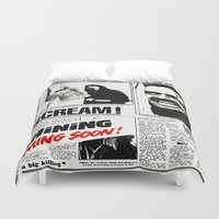 the shining Duvet Covers featuring Shining by Maioriz Home