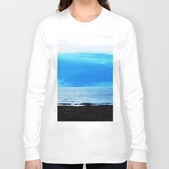 Storm Funnels Above the Sea Long Sleeve T-shirt