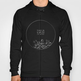 Time Is Now Doomsday Clock Hoody