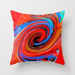 Red Dervish Throw Pillow