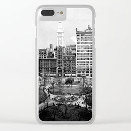 Union Square, New York City, 1911 Clear iPhone Case