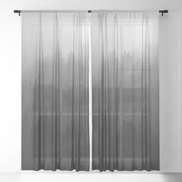 Black Forest Sheer Curtain