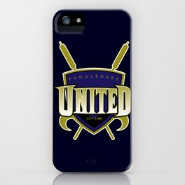 Quidditch Teams of the World: Puddlemere United iPhone Case