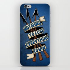 Nothing To Lose iPhone & iPod Skin