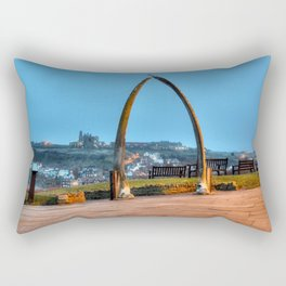 Whitby Whalebone Blue Hour Rectangular Pillow