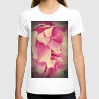 hydrangea T-shirts featuring hydrangea by Enri-Art