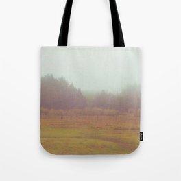 Foggy Afternoon Tote Bag
