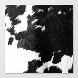 Modern Cowhide Canvas Print