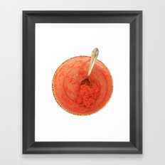Love vitamins Framed Art Print