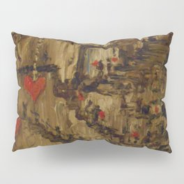 Steampunk Manufactured Love Pillow Sham