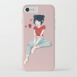 space buns iPhone Case