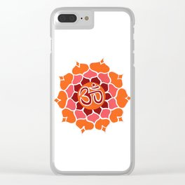 om 5 Clear iPhone Case