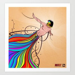 Fly C'mon! Art Print