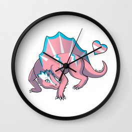 Trans Pride Dimetro Wall Clock