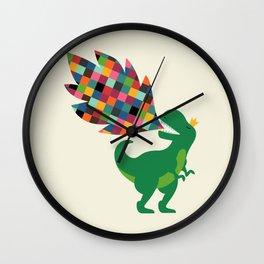Rainbow Power Wall Clock