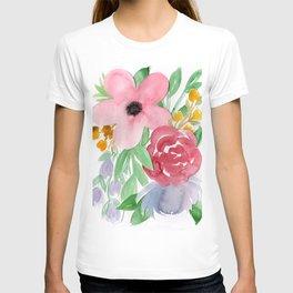 Floral Watercolor Bouquet no. 2 T-shirt